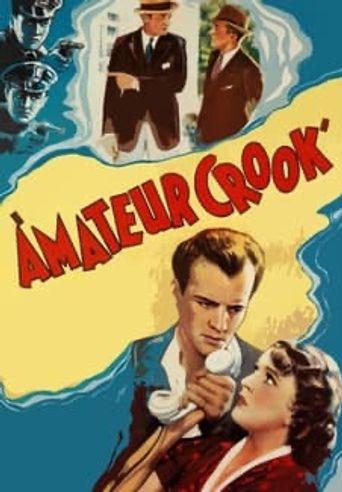 Amateur Crook Poster