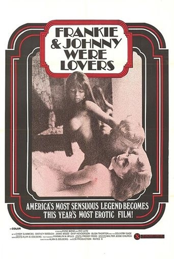 Frankie and Johnnie... Were Lovers Poster