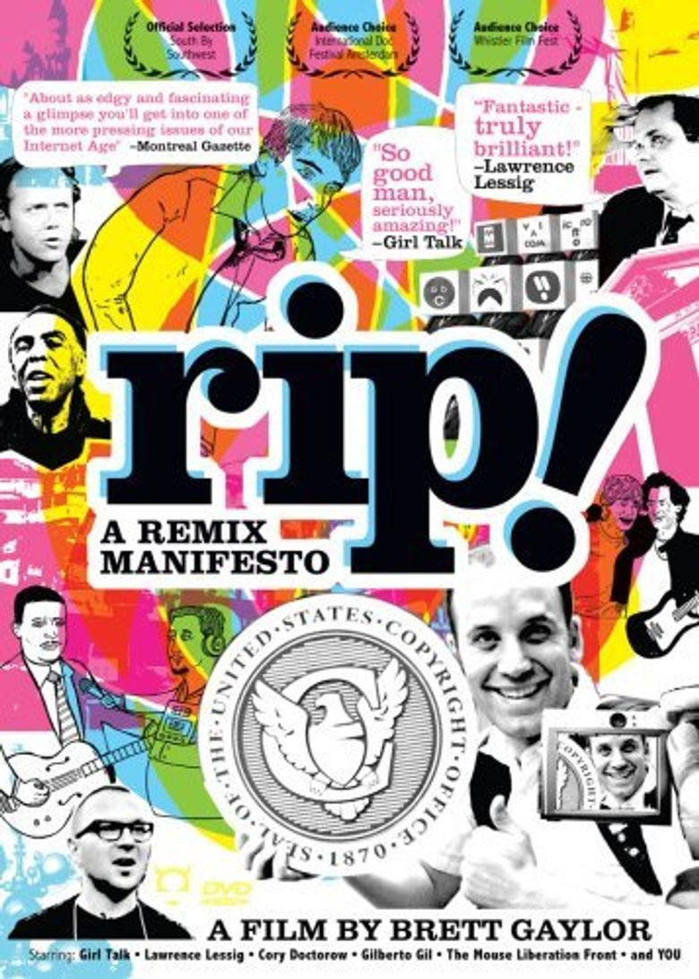 RiP!: A Remix Manifesto Poster