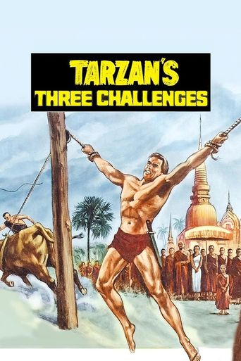 Tarzan's Three Challenges Poster