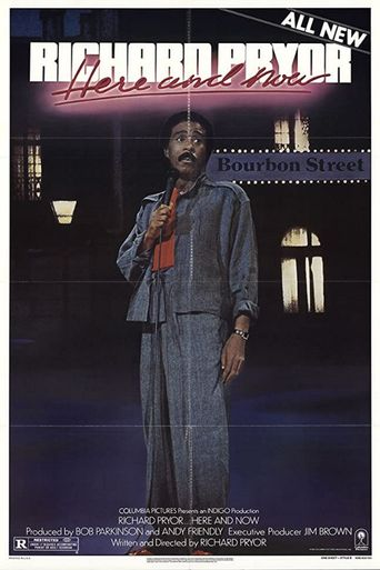 Richard Pryor: Here and Now Poster