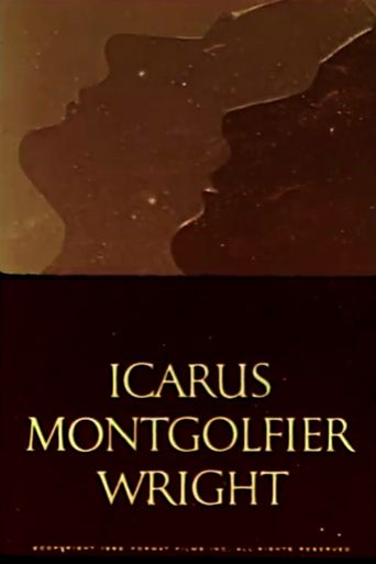 Icarus Montgolfier Wright Poster