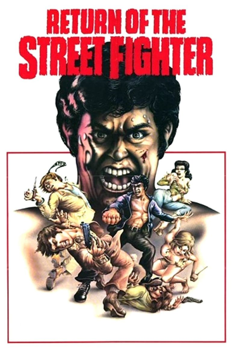 Return of the Street Fighter Poster