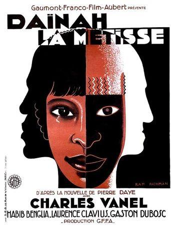 Daïnah la métisse Poster