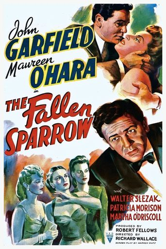 The Fallen Sparrow Poster