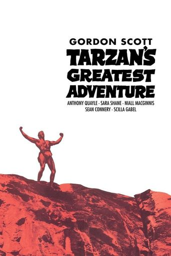 Tarzan's Greatest Adventure Poster