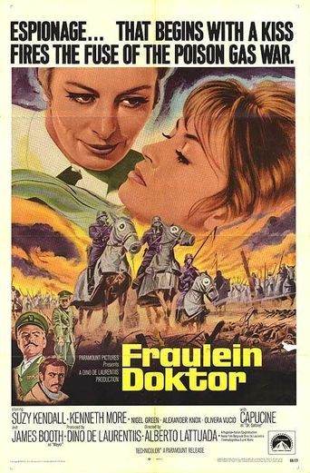 Fraulein Doktor Poster