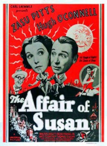 The Affair of Susan Poster