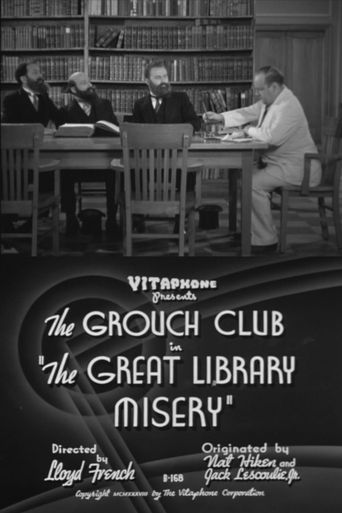 The Great Library Misery Poster