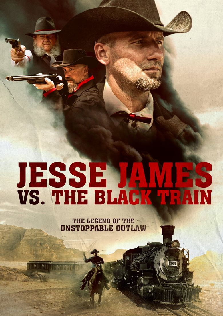 Jesse James vs. The Black Train Poster