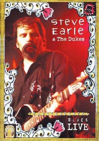 Steve Earle Transcendental Blues Live Poster