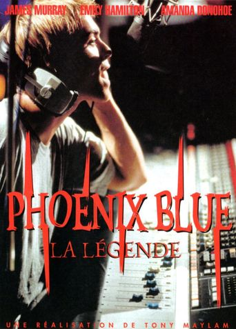 Phoenix Blue Poster