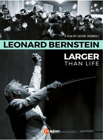 Leonard Bernstein: Larger Than Life Poster