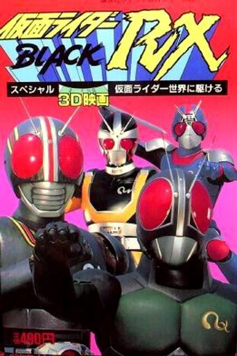 Kamen Rider: All Over the World Poster