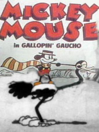 Gallopin' Gaucho Poster