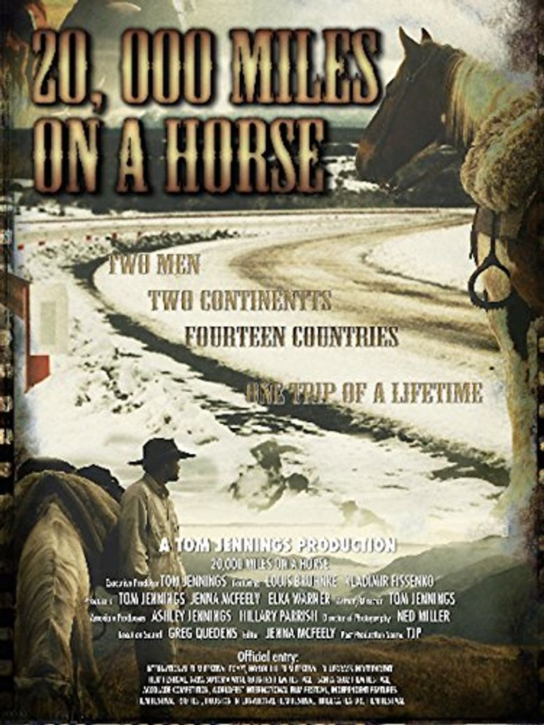 20,000 Miles on a Horse Poster