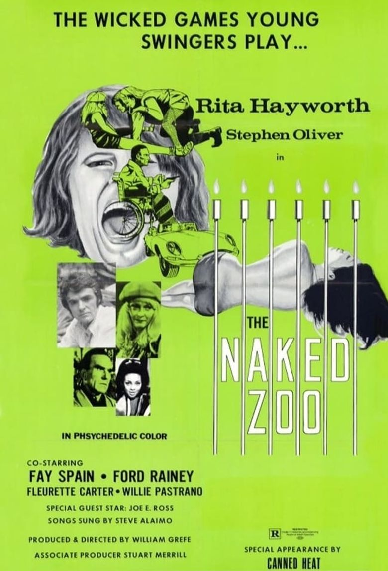 The Naked Zoo Poster