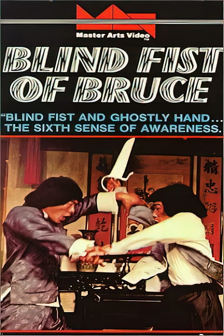 Blind Fist Of Bruce Poster