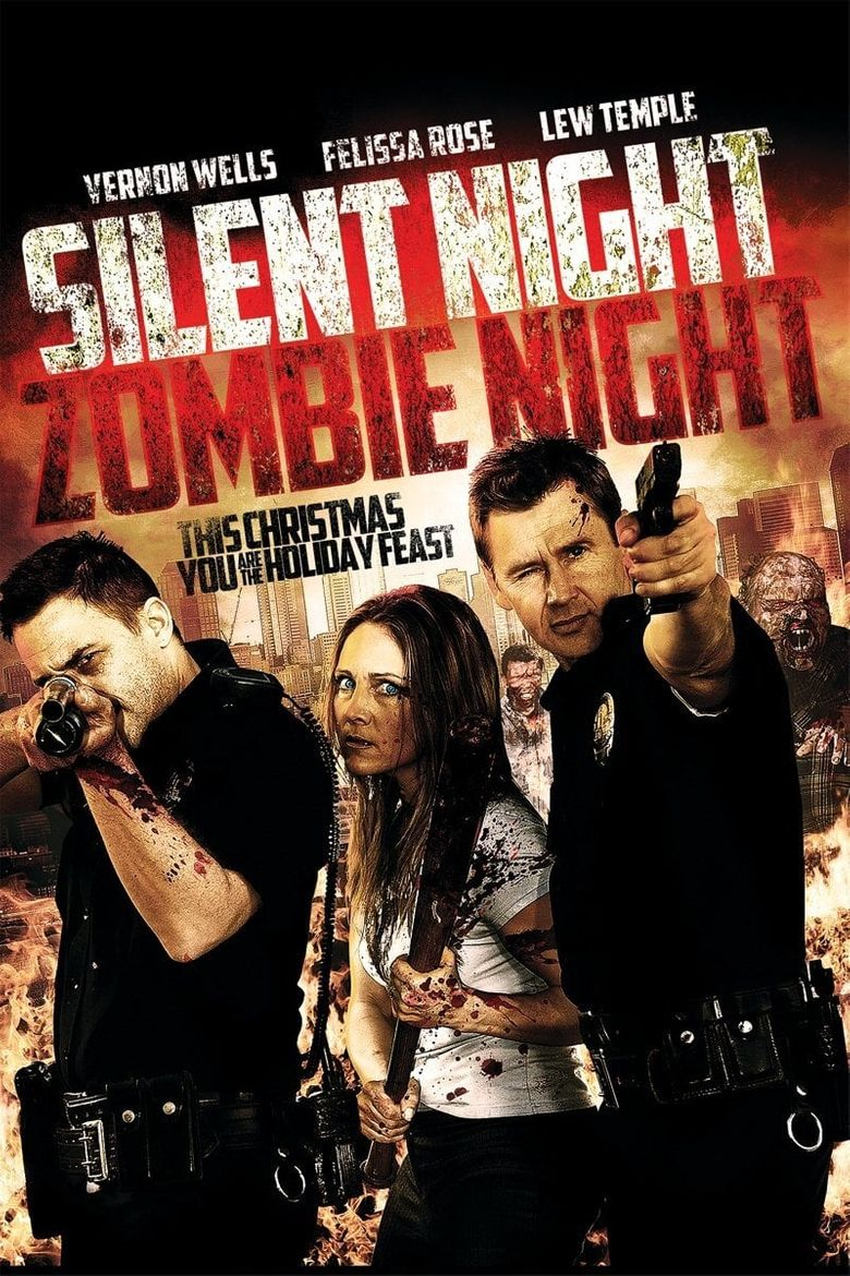 Silent Night, Zombie Night Poster