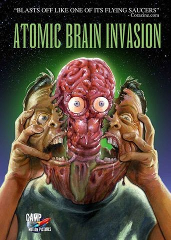 Atomic Brain Invasion Poster