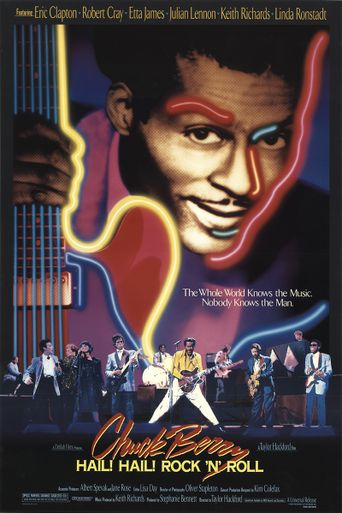 Chuck Berry: Hail! Hail! Rock 'n' Roll Poster