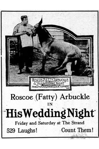 His Wedding Night Poster