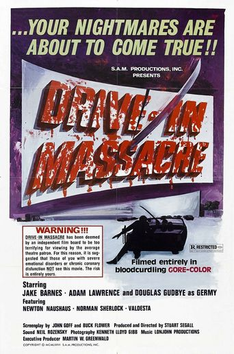 Drive-In Massacre Poster