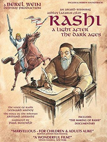 Rashi: A Light After The Dark Ages Poster