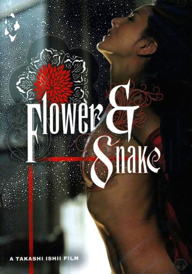 Flower & Snake Poster