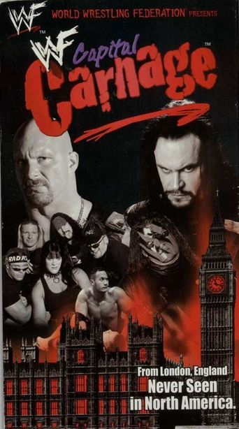WWE Capital Carnage Poster