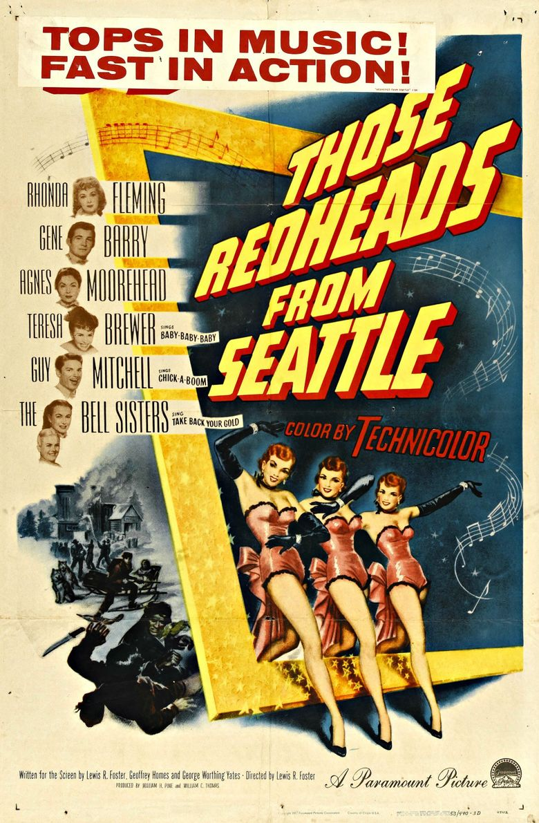 Those Redheads from Seattle Poster