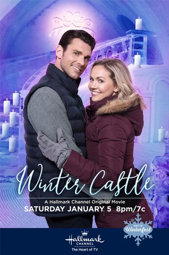 Winter Castle Poster