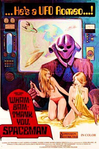 Wam Bam Thank You Spaceman Poster