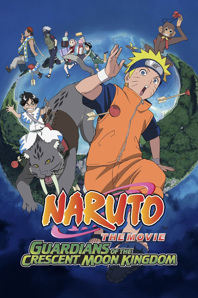 Naruto the Movie: Guardians of the Crescent Moon Kingdom Poster