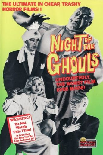 Night of the Ghouls Poster