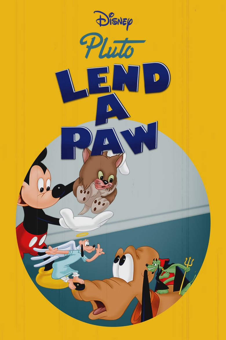 Lend a Paw Poster
