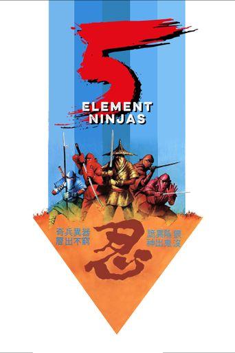 Five Element Ninjas Poster