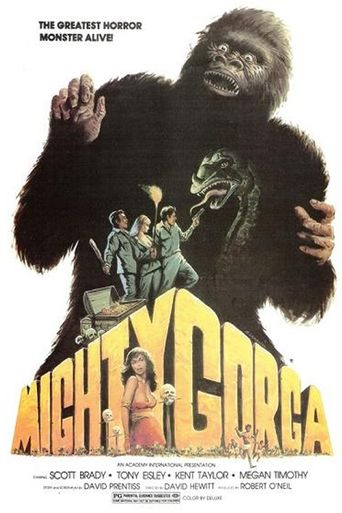 The Mighty Gorga Poster