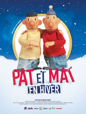 Pat et Mat en hiver Poster