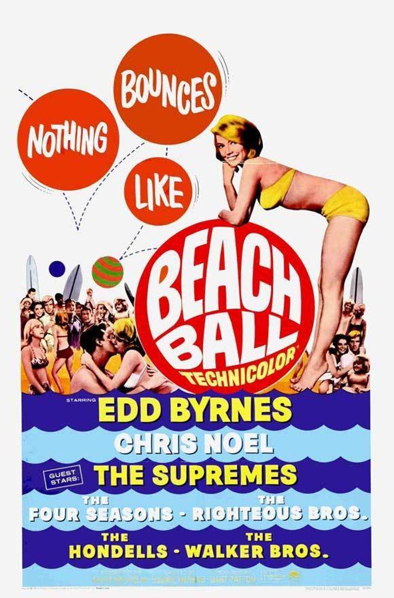 Beach Ball Poster