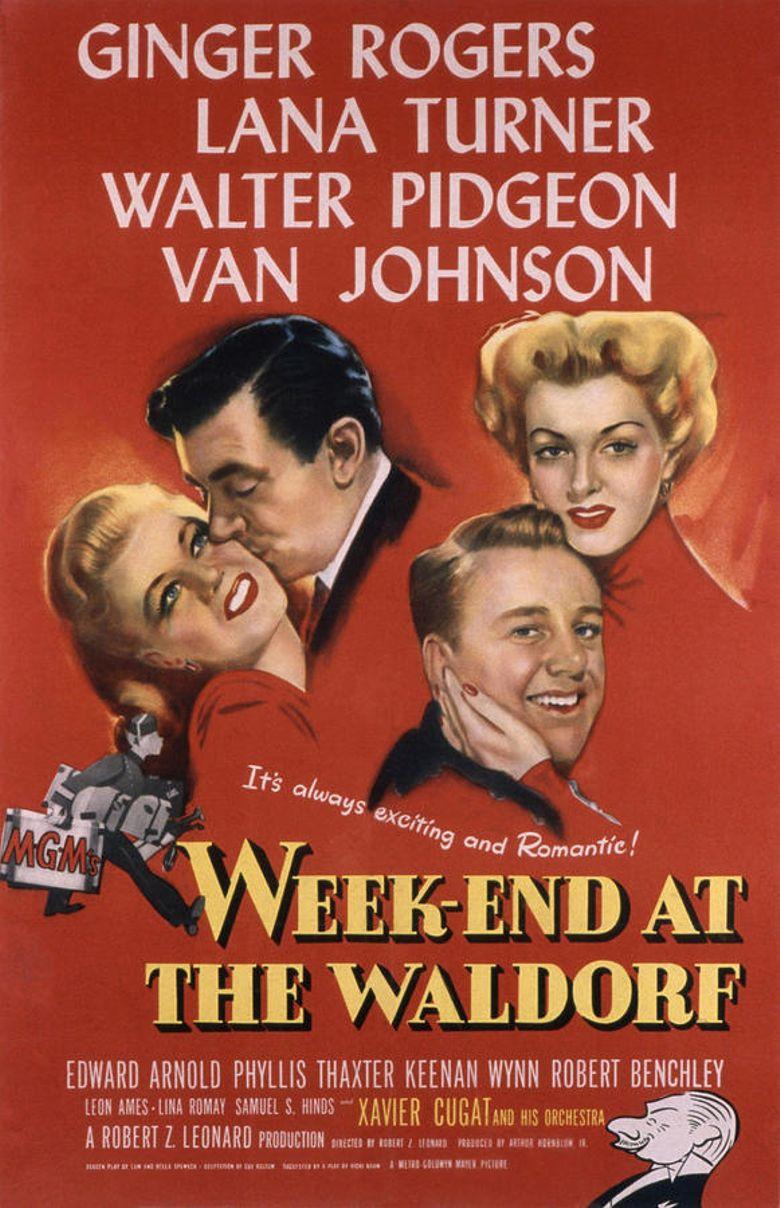 Week-End at the Waldorf Poster