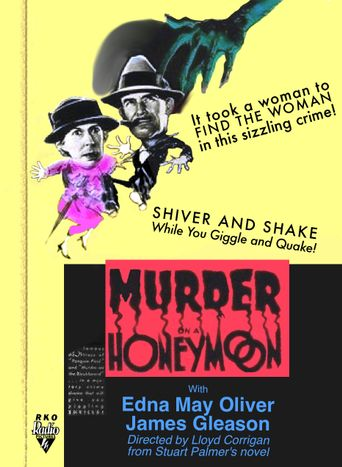 Murder on a Honeymoon Poster