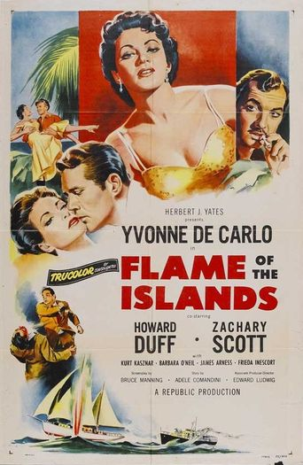 Flame of the Islands Poster