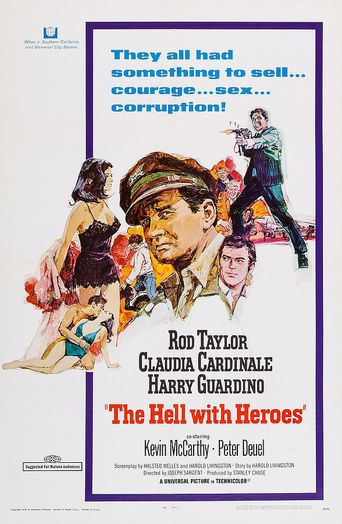 The Hell with Heroes Poster
