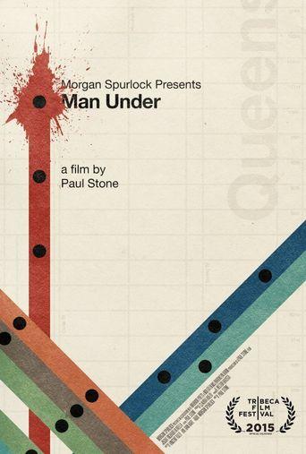 Man Under Poster