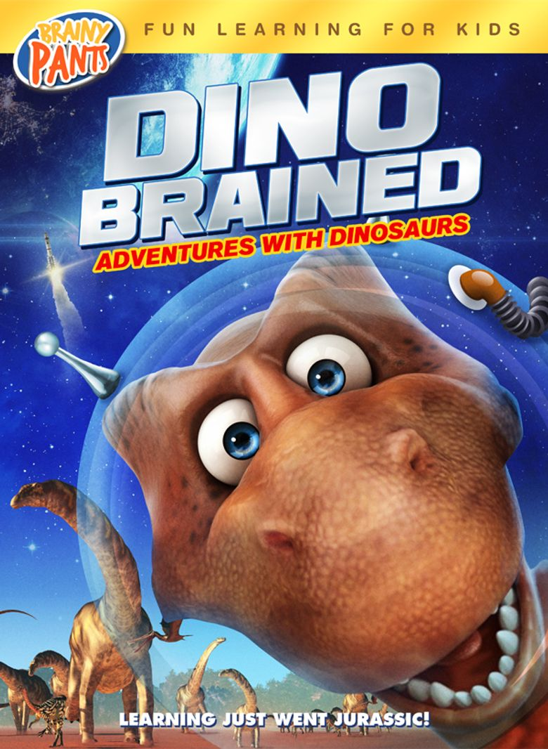 Dino Brained Poster