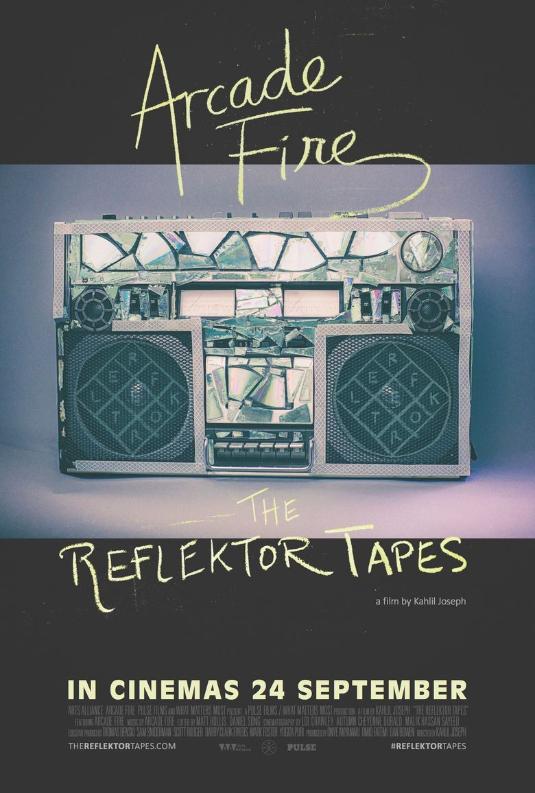 Arcade Fire - The Reflektor Tapes Poster