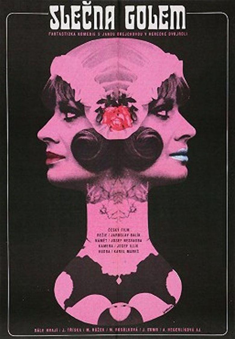 Slečna Golem Poster