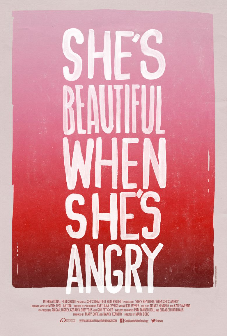 She's Beautiful When She's Angry Poster
