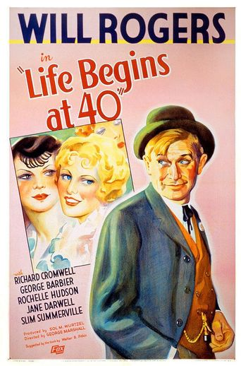 Life Begins at Forty Poster